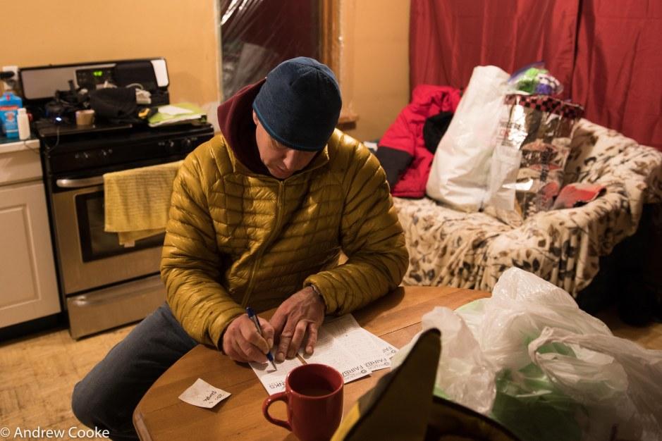 Iditarod drop bag day-6
